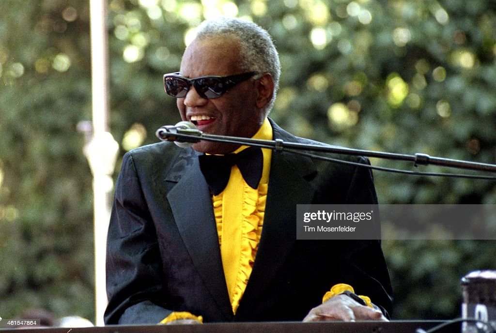 Ray Charles In Concert 1991 - Saratoga CA : News Photo