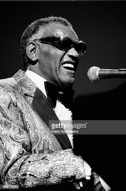 Ray Charles performs live at the North Sea Jazz Festival in The Hague, Holland on July 09 1983