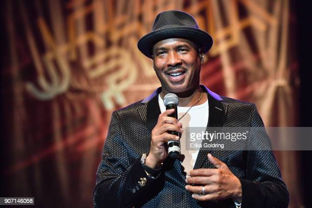 Ray Chew of Two Beats One Soul performs at Teatro Mella during the 33rd International Jazz Plaza Festival on January 18 2018 in Havana Cuba