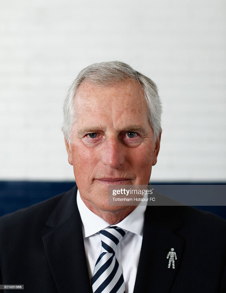 Ray Clemence poses at White Hart Lane on August 29, 2015 in London, England.