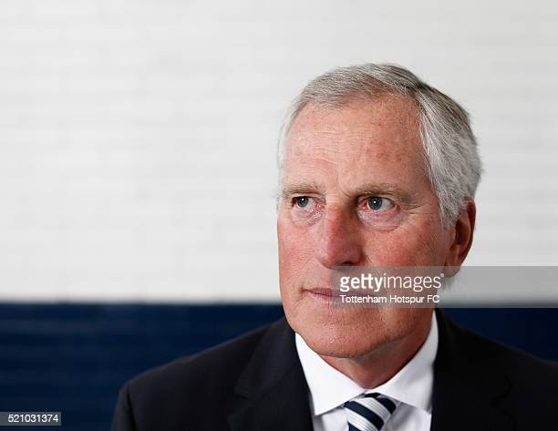 Ray Clemence poses at White Hart Lane on August 29 2015 in London England