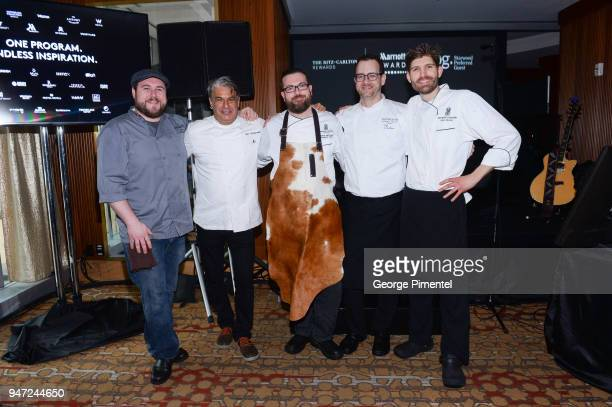 Ray Daniel Mixologist Char 5 Delta Toronto Kim Canteenwalla Head Chef JW Marriott Parq Vancouver Chef Murray McDonald Executive Chef The RitzCarlton...