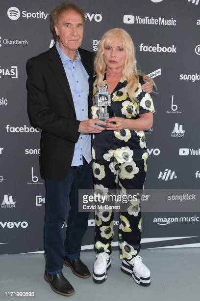 Ray Davies and Debbie Harry attend the Association of Independent Music Awards 2019 at The Roundhouse on September 03 2019 in London England