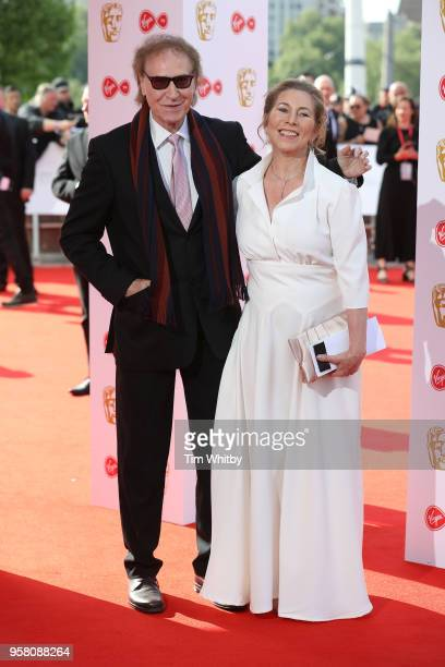 Ray Davies and guest attend the Virgin TV British Academy Television Awards at The Royal Festival Hall on May 13 2018 in London England