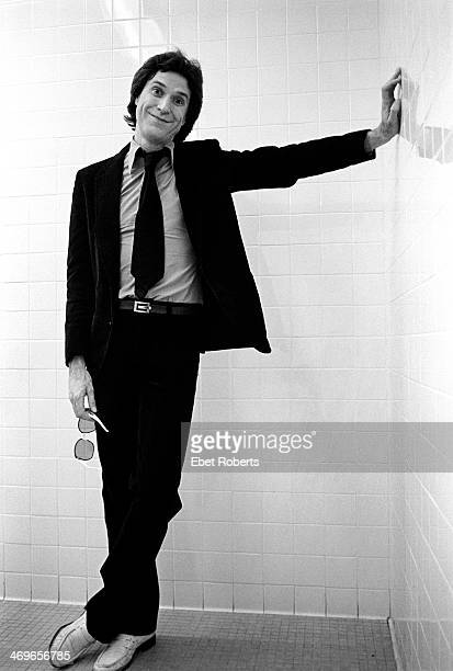 Ray Davies of The Kinks backstage at a concert at Bergen Community College in Paramus New Jersey on March 11 1979