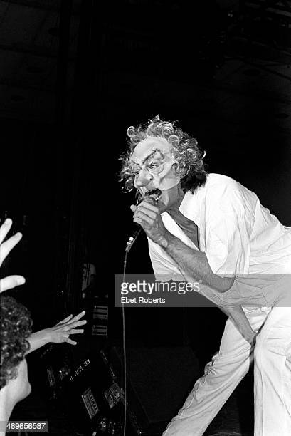 Ray Davies of The Kinks performing at Bergen Community College in Paramus New Jersey on March 11 1979