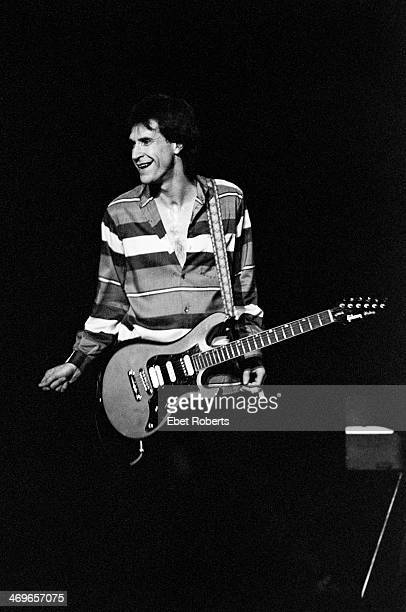 Ray Davies of The Kinks performing at the Brendan Byrne Arena in East Rutherford New Jersey on January 10 1982