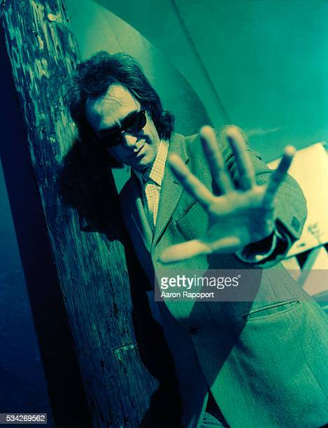Ray Davies of The Kinks shot in Los Angeles California around the time of release of the last Kinks album Phobia