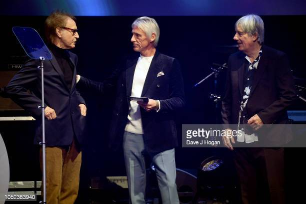 Ray Davies Paul Weller and Mick Avory at the Q Awards 2018 held at The Roundhouse on October 17 2018 in London England