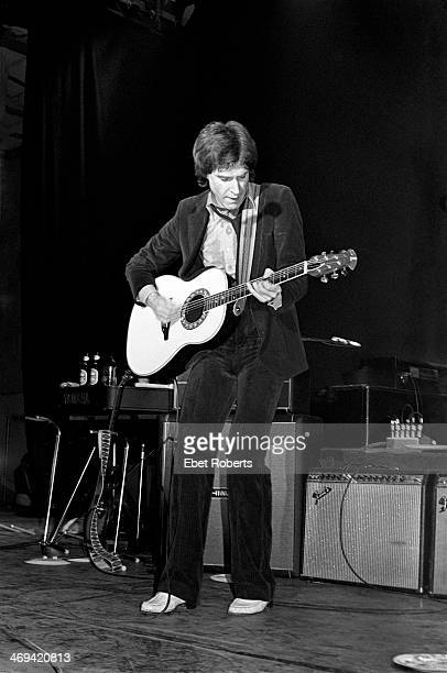 Ray Davies performing with The Kinks in Paramus New Jersey on March 11 1979
