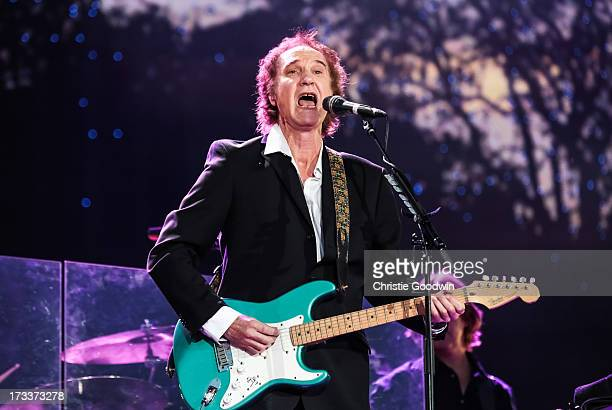 Ray Davies performs on stage at British Summer Time Festival at Hyde Park on July 12 2013 in London England