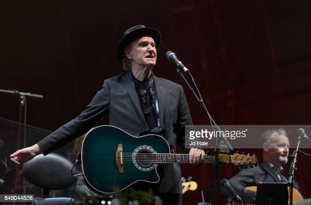Ray Davies performs on stage at The Last Night of the Proms at Royal Albert Hall on September 9 2017 in London England