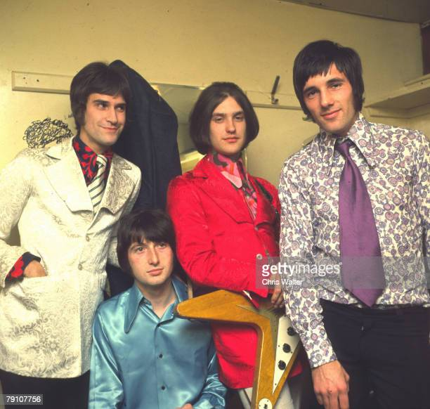 Ray Davies Pete Quaife Dave Davies and Mick Avory of The Kinks 1965
