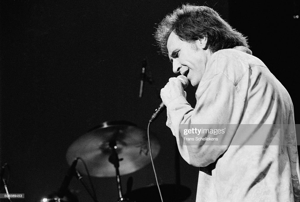 Ray Davies, vocal, of the Kinks performs at Beurs van Berlage on 1st July 1993 in Amsterdam, Netherlands.