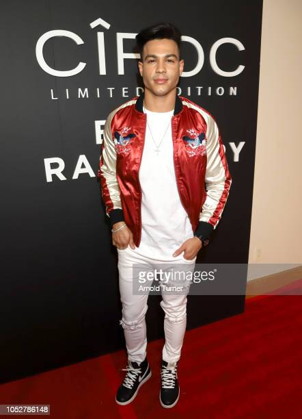 Ray Diaz attends the ZEUS New Series Premiere Party X CIROC Black Raspberry on October 19 2018 in Burbank California
