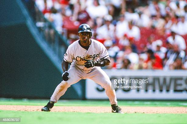 Ray Durham of the Chicago White Sox during the game against the St Louis Cardinals on September 2 1997 at Busch Stadium in St Louis Missouri