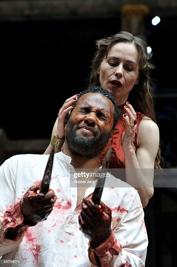 """Macbeth"" Performed At The Globe Theatre"