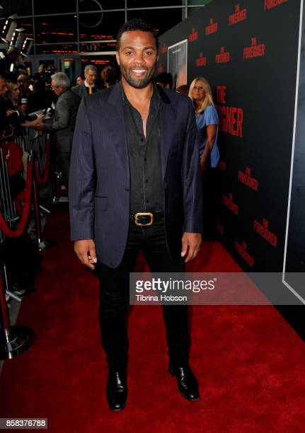 Ray Fearon attends the premiere of 'The Foreigner' at ArcLight Hollywood on October 5 2017 in Hollywood California