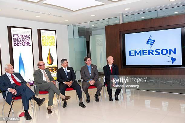Ray Ferrero Jr Chairman Greater Fort Lauderdale Alliance CEO Leo Rodriguez President Emerson Process Management Latin America Anuar Barake President...