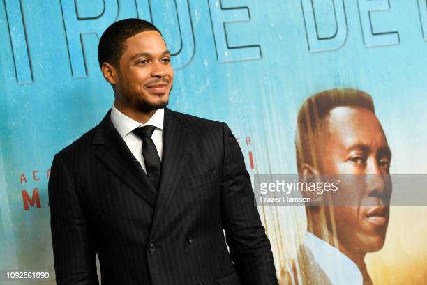"""Ray Fisher arrives at the Premiere Of HBO's """"True Detective"""" Season 3 at Directors Guild Of America on January 10, 2019 in Los Angeles, California."""