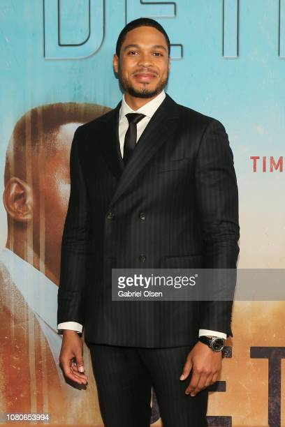 """Ray Fisher attends the premiere of HBO's """"True Detective"""" Season 3 at Directors Guild Of America on January 10, 2019 in Los Angeles, California."""