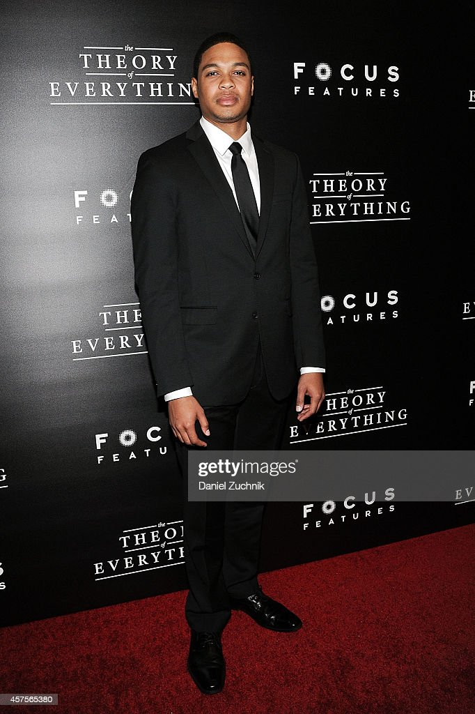 Ray Fisher attends 'The Theory of Everything' New York Premiere at Museum of Modern Art on October 20, 2014 in New York City.
