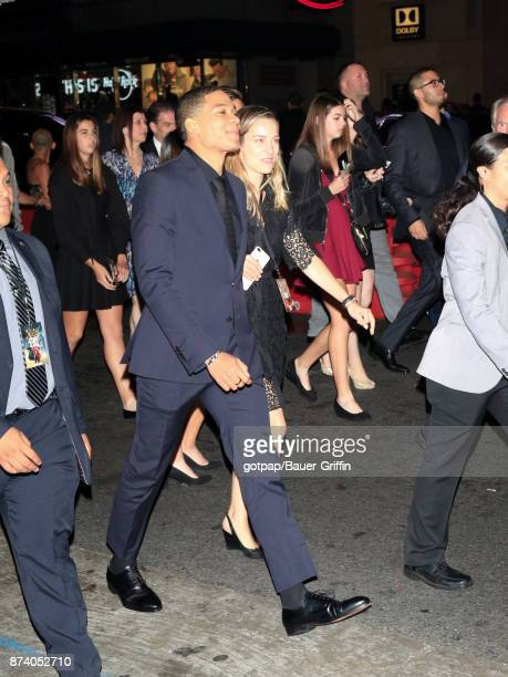 Ray Fisher is seen arriving at the premiere of Warner Bros Pictures' 'Justice League' at Dolby Theatre on November 13 2017 in Los Angeles California