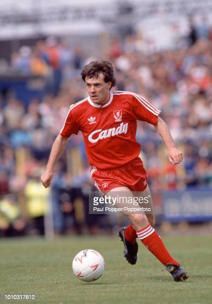 Ray Houghton of Liverpool in action during the Barclays League Division One match between Wimbledon and Liverpool at Plough Lane on May 13, 1989 in...