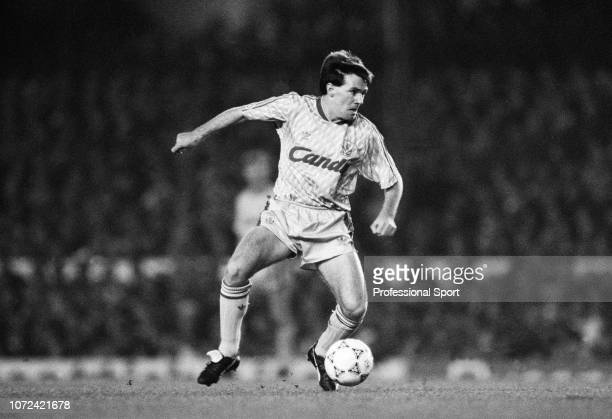 Ray Houghton of Liverpool in action during the Barclays League Division One match between Arsenal v Liverpool at Highbury on December 2, 1990 in...