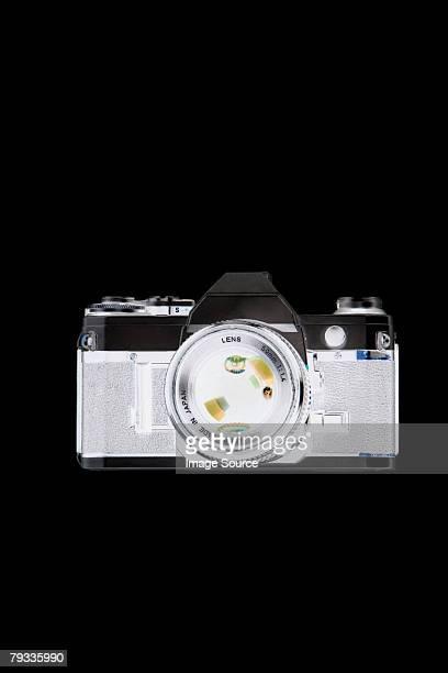 X ray image of camera