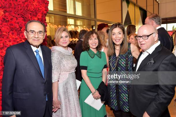Ray Irani Ghada Irani Lori Anne Hackel Terri Smooke and Michael Smooke as The American Friends of Covent Garden Celebrates 50 Years With A Special...
