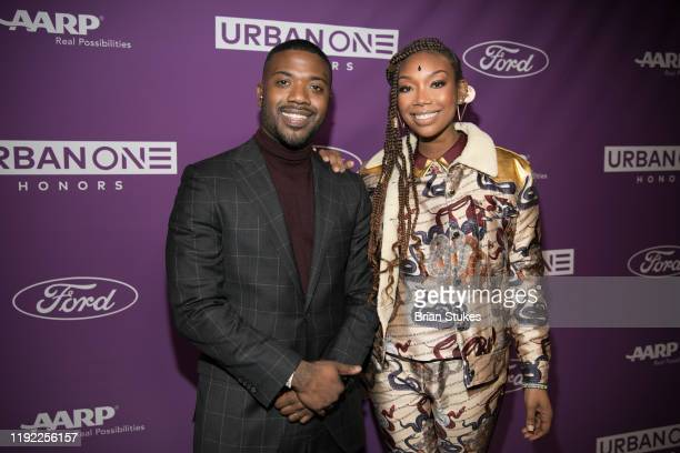 Ray J and Brandy attend 2019 Urban One Honors at MGM National Harbor on December 05 2019 in Oxon Hill Maryland