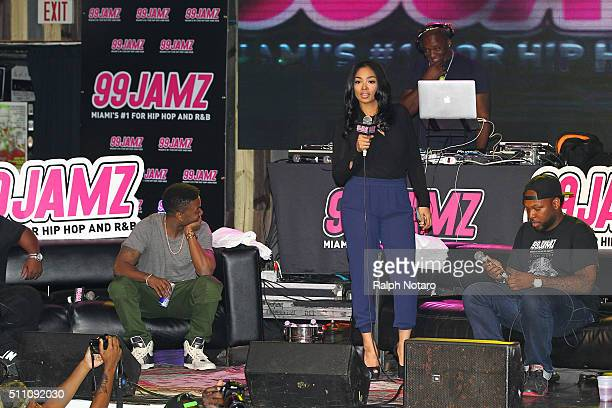 Ray J and fiance Princess Love answer questions from fans about his music career their engagement and his Kim Kardashian sex tape during the 99 Jamz...