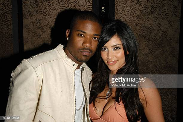 Ray J and Kim Kardashian attend Charlotte Ronson Fall/Winter 2006 Collection at Library Bar on March 22 2006