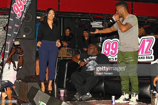 Ray J and Princess Love answer questions from fans about his music career their engagement and his Kim Kardashian sex tape during the 99 Jamz...
