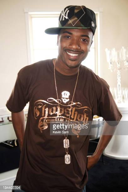 Ray J during House of Hype Luxury Lounge After Party Day 2 at Benedict Canyon Estate in Beverly Hills California United States