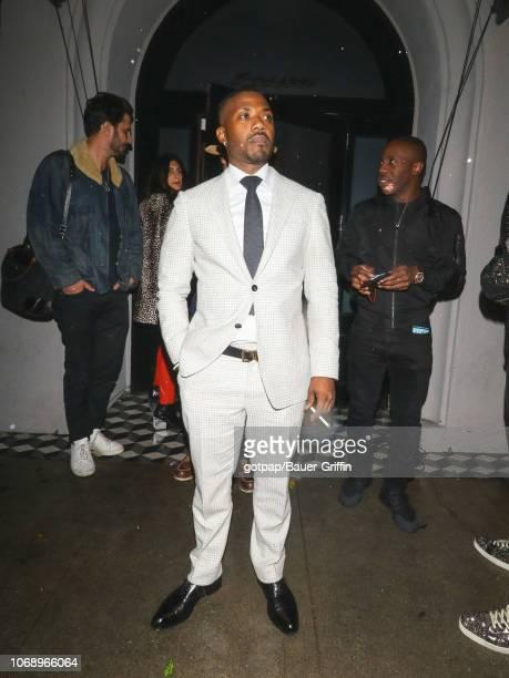 Ray J is seen on December 05 2018 in Los Angeles California