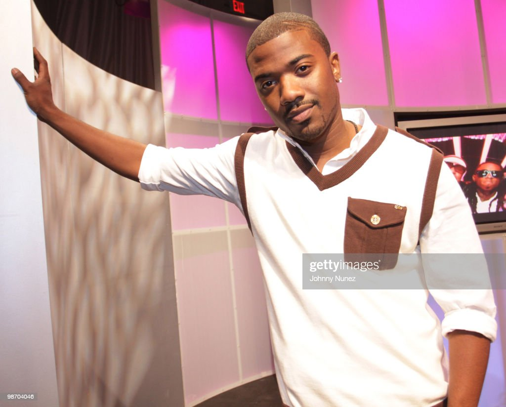 Ray J. visits BET's '106 & Park' at BET Studios on April 21, 2010 in New York City.