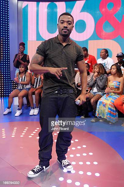 Ray J visits BET's '106 Park' at BET Studios on May 22 2013 in New York City