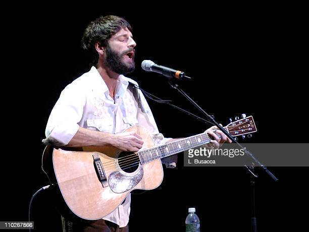 Ray Lamontagne during From the Big Apple to the Big Easy - Radio City Music Hall - Show at Radio City Music Hall in New York City, New York, United...