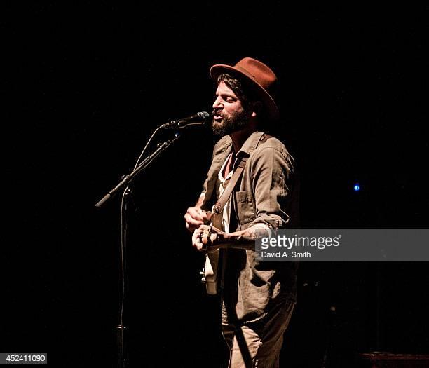 Ray LaMontagne performs at Birmingham Jefferson Civic Center Concert Hall on July 19, 2014 in Birmingham, Alabama.