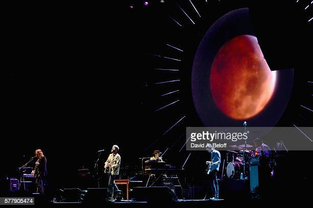Ray LaMontagne performs at the Portsmouth Pavilion on July 19, 2016 in Portsmouth, Virginia.