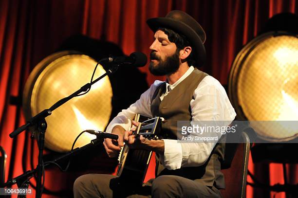 Ray LaMontagne performs for BBC4 Sessions Songwriters Circle 2010 at Bush Hall on September 24, 2010 in London, England.