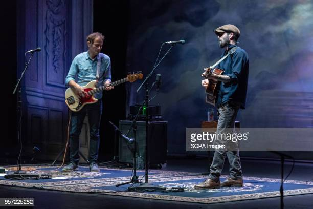 Ray LaMontagne performs Live on Stage at the Bord Gais Energy Theatre in Dublin Ireland