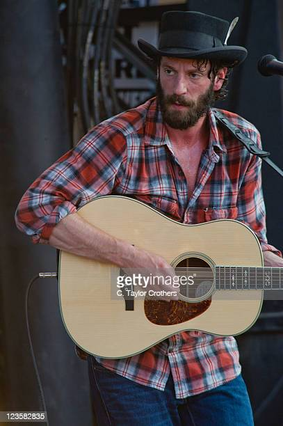 Ray Lamontagne performs on stage during Bonnaroo 2011 at Which Stage on June 10, 2011 in Manchester, Tennessee.