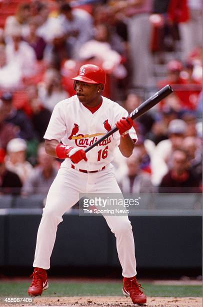Ray Lankford Of The St Louis Cardinals Bats Against The Milwaukee At Picture Id S X on Ray Lankford St Louis Cardinals