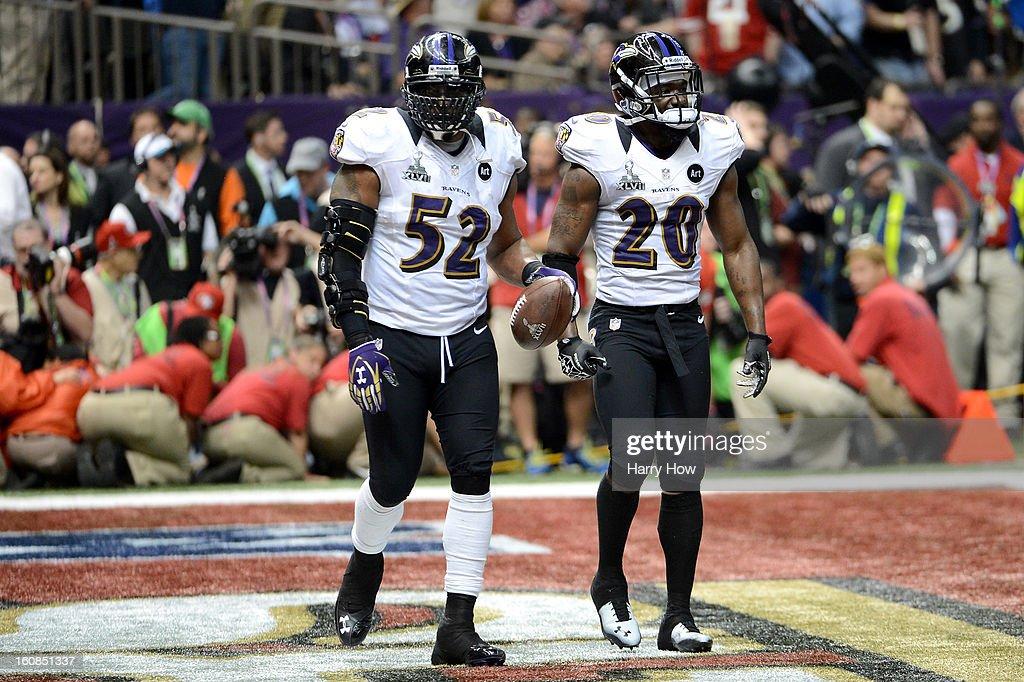 Super Bowl XLVII - Baltimore Ravens v San Francisco 49ers : News Photo