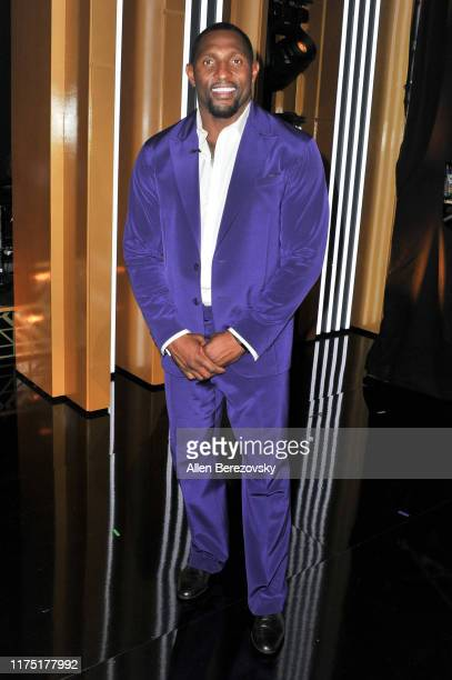 Ray Lewis attends the Dancing With The Stars Season 28 show at CBS Television City on September 16 2019 in Los Angeles California