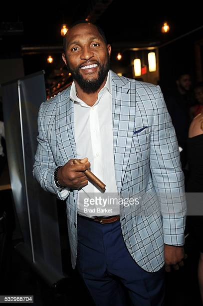 Ray Lewis attends The Grand Opening of The Time Nyack hosted by The Dream Hotel Group on May 19 2016 in Nyack New York