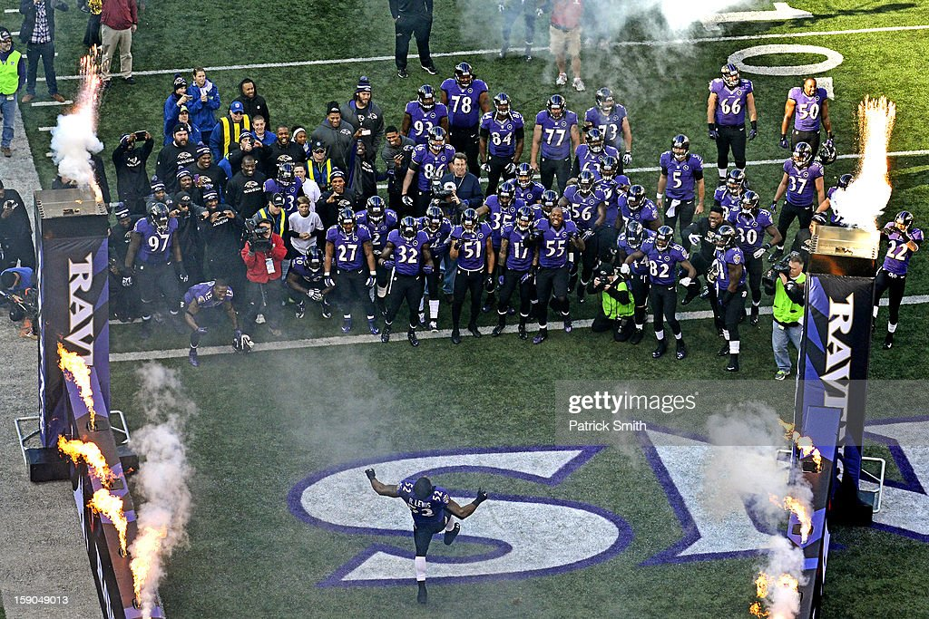 Wild Card Playoffs - Indianapolis Colts v Baltimore Ravens : News Photo